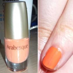 Produktbild zu Arabesque Nagellack – Farbe: 14 Pastell Koralle