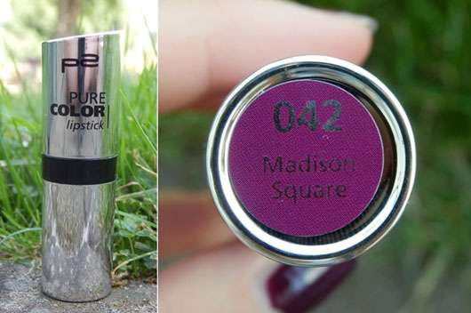 p2 pure color lipstick, Farbe: 042 Madison Square