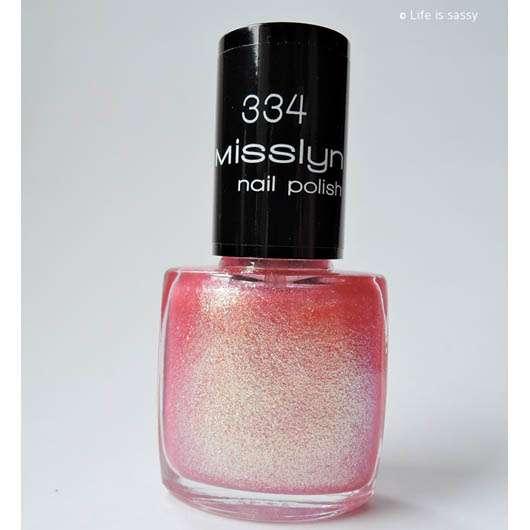Misslyn nail polish, Farbe: 334 venus
