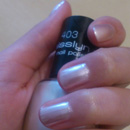 Misslyn Nail Polish, Farbe: 403 vanilla cream