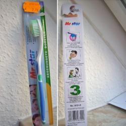 Produktbild zu Mr. Star Zahnbürste (mittel/medium)