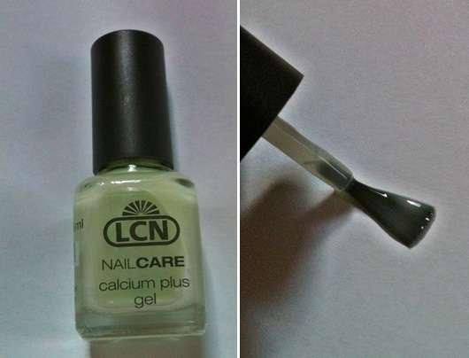 Test - Unterlack - LCN Nail Care Calcium Plus Gel (fu00fcr Empfindliche Nu00e4gel) U2013 Testbericht Von ...