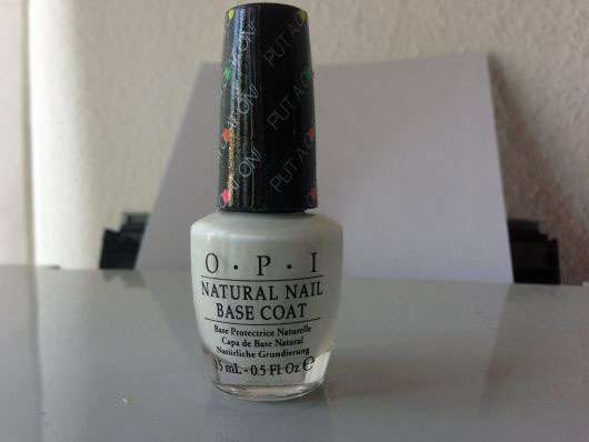 OPI Natural Nail Base Coat, Farbe: Put A Coat On (LE)