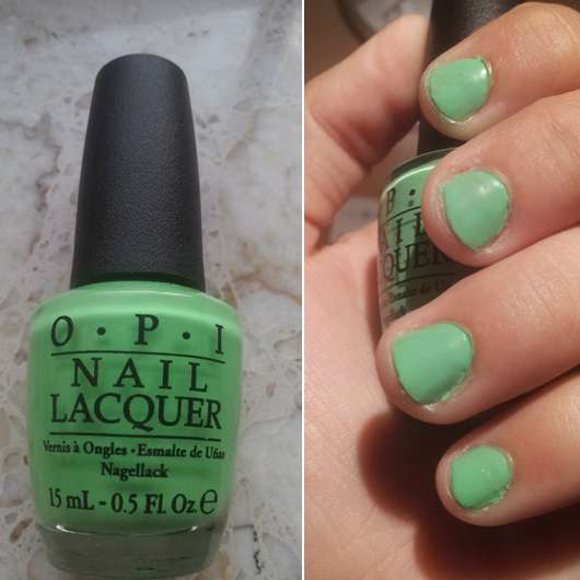 OPI Nail Lacquer, Farbe: You Are So Outta Lime! (LE)