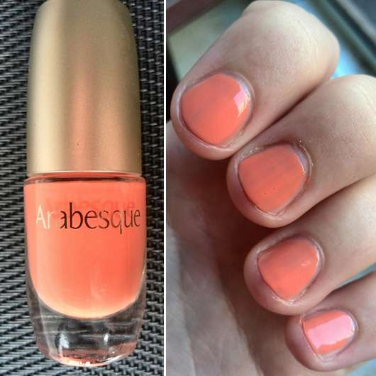 Arabesque Nagellack, Farbe: 14 Pastell Koralle