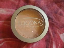 Produktbild zu LOGONA Face Powder – Farbe: 03 sunny beige