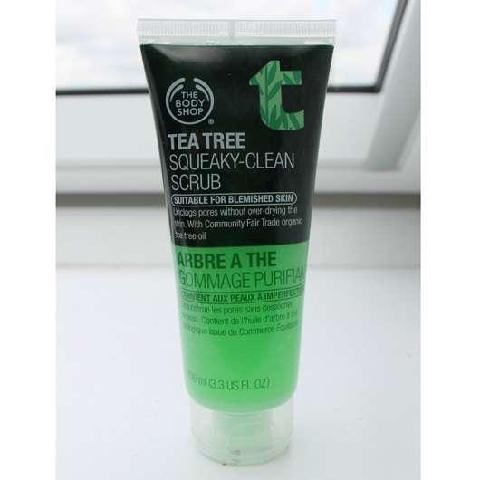 The Body Shop Tea Tree Squeaky-Clean Scrub