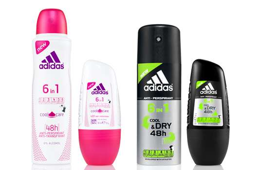 adidas 6in1 Deodorants