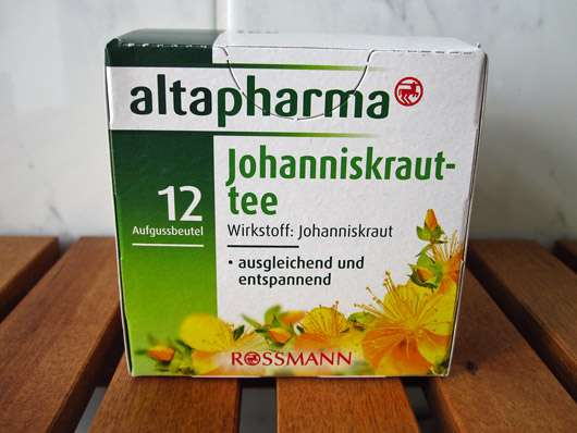 altapharma Johanniskrauttee