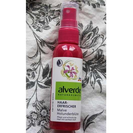 alverde Haarerfrischer Malve Holunderblüte