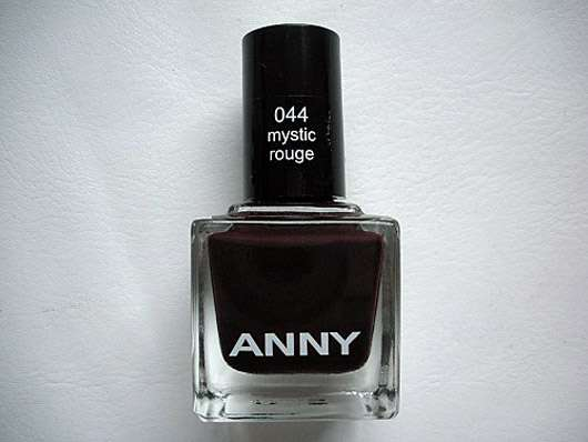 ANNY Nagellack, Farbe: 044 mystic rouge