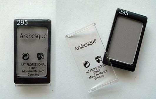 Arabesque Kompakter Lidschattenpuder, Farbe: 295 Grau Matt