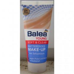 Produktbild zu Balea Young Soft & Clear Mattierendes Make-Up – Nuance: 01 Natural