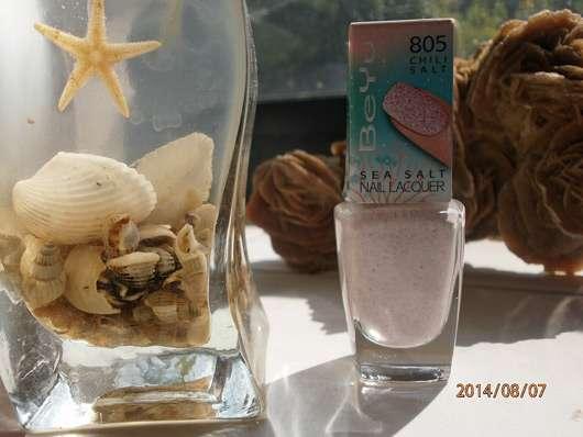 BeYu Sea Salt Nail Lacquer, Farbe: 805 Chili Salt (LE)
