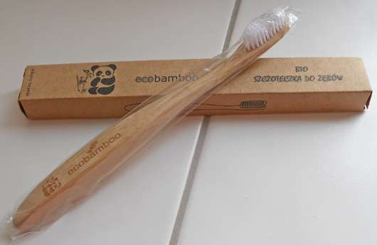 ecobamboo Bio Bambus-Zahnbürste