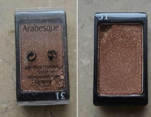<strong>Arabesque</strong> Kompakter Lidschattenpuder - Farbe: 31 Goldbraun