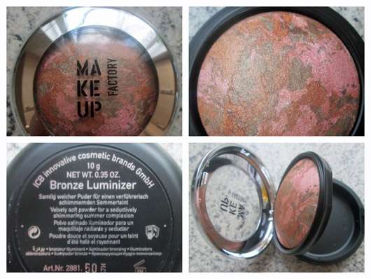 Make Up Factory Bronze Luminizer, Farbe: 50 Marbled Sierra