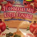 Montagne Jeunesse Creme-Tuch-Maske mit Roter Tonerde
