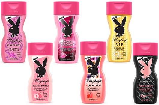 Relaunch der Playboy Shower Gels & Creams Linie für Frauen