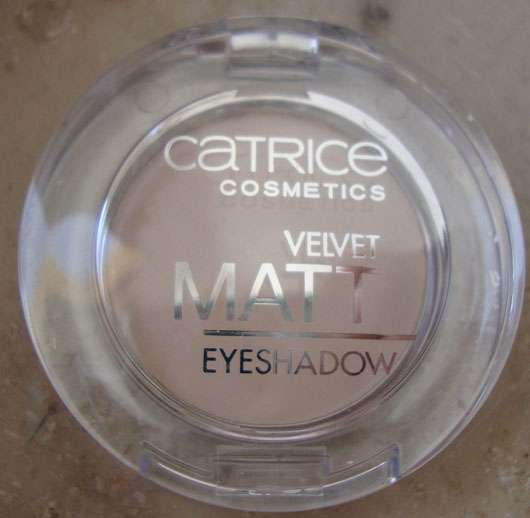 Catrice Velvet Matt Eyeshadow, Farbe: 010 Vanillaty Fair