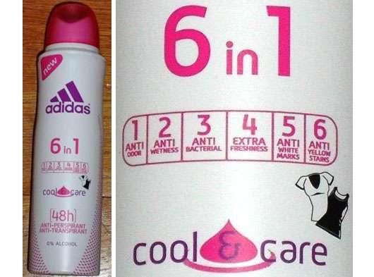 adidas 6 in 1 Cool & Care Anti-Transpirant Deodorant Spray