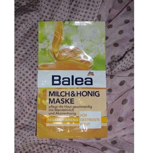 test maske balea milch honig maske regenerierend mit mandelmilch testbericht von irma. Black Bedroom Furniture Sets. Home Design Ideas