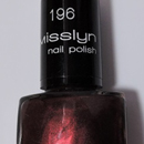 Misslyn nail polish, Farbe: 196 bonfire