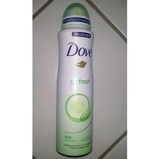Dove go fresh Deodorant Spray Grüner Tee- und Gurkenduft