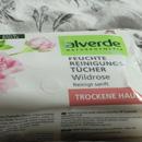 alverde Feuchte Reinigungstücher Wildrose