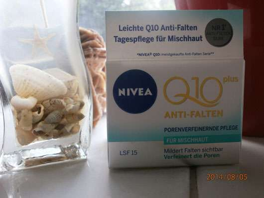 Nivea Q10 Plus Anti-Falten Porenverfeinernde Pflege (für Mischhaut)