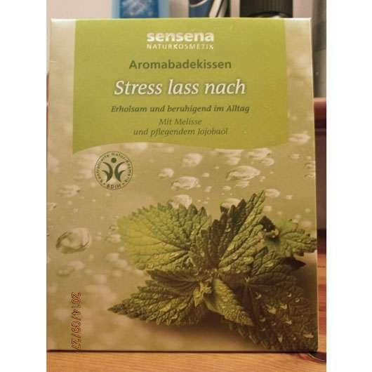Sensena Aromabadekissen Stress lass nach