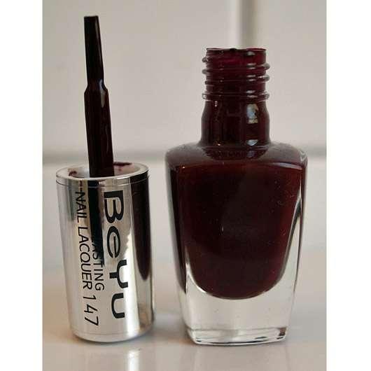 BeYu Long Lasting Nail Lacquer, Farbe: 147 dark wine