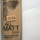 Catrice All Matt Plus Shine Control Make Up, Farbe: 020 Nude Beige