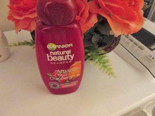 Garnier Natural Beauty Shampoo Arganöl und Cranberry