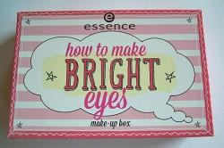 Produktbild zu essence how to make bright eyes make-up box