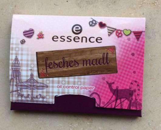 essence fesches madl oil control paper (LE)