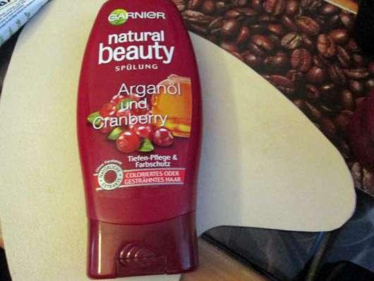 Garnier Natural Beauty Spülung Arganöl und Cranberry