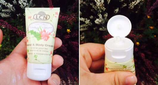 LCN Hand & Body Cream Ginkgo & Ginger (LE)
