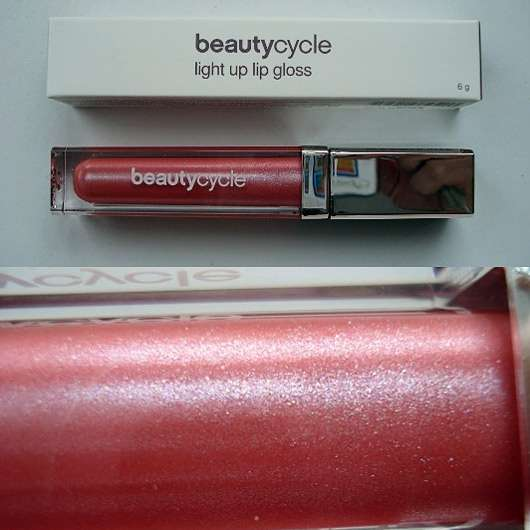 beautycycle light up lip gloss, Farbe: Glitz