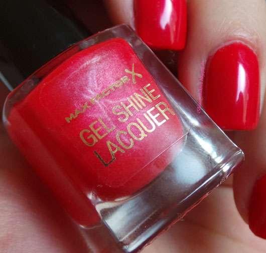 Max Factor Gel Shine Lacquer, Farbe: 25 Patent Poppy