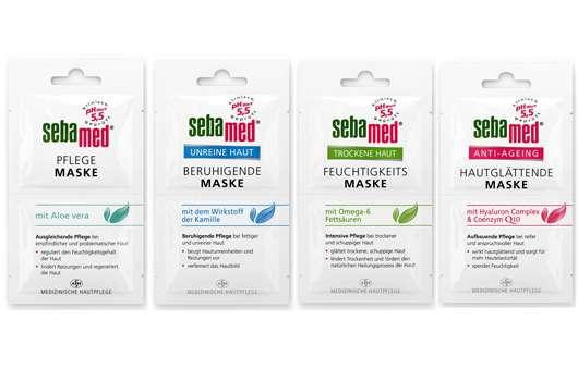 Gesichtsmasken von sebamed