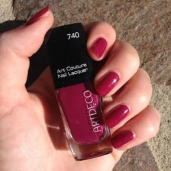 Produktbild zu ARTDECO Art Couture Nail Lacquer – Farbe: 740 couture blueberry