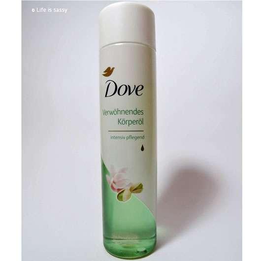 Dove Verwöhnendes Körperöl mit Pistazie und Magnolienduft