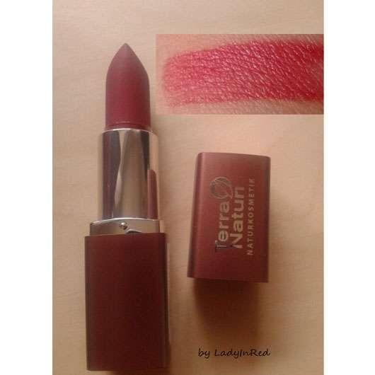 Terra Naturi Naturkosmetik Lippenstift, Farbe: 09 deep red