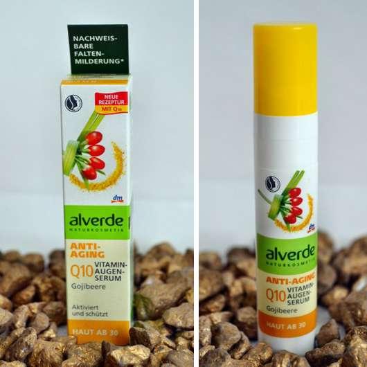 alverde Anti-Aging Q10 Vitamin-Augenserum