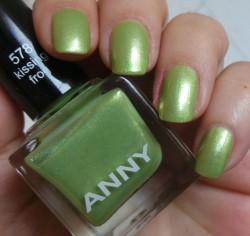 Produktbild zu ANNY Cosmetics Nagellack – Farbe: 578 kissing frog