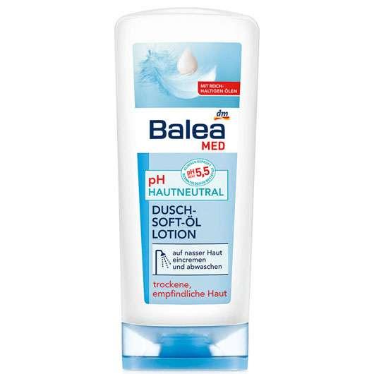 Balea MED pH-Hautneutral Dusch-Soft-Öl-Lotion