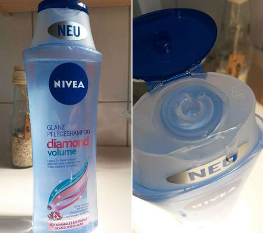 NIVEA Diamond Volume Glanz Pflegeshampoo