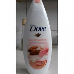 Produktbild zu Dove Pure Verwöhnung Reichhaltige Pflegedusche Mandelmilch und Hibiskusduft