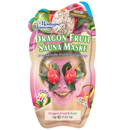 Montagne Jeunesse Dragon Fruit Sauna Maske